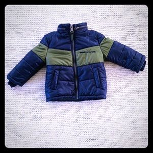 GUESS BOYS PUFFER COAT SIZE 18M IN TODDLERS